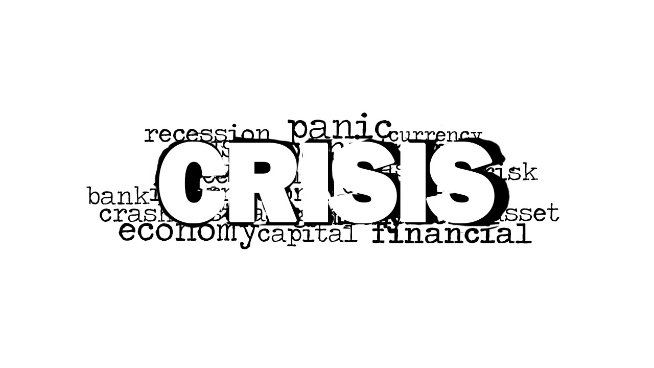 crisis word cloud picture for powerpoint
