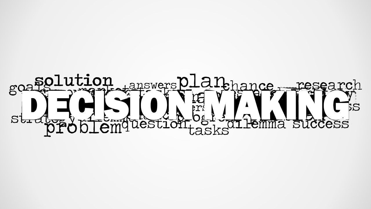 foundations of decision making Chapter 4 foundations of decision making slideshare uses cookies to improve functionality and performance, and to provide you with relevant advertising if you continue browsing the site, you agree to the use of cookies on this website.