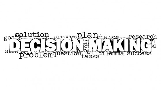 Decision Making Illustration for PowerPoint