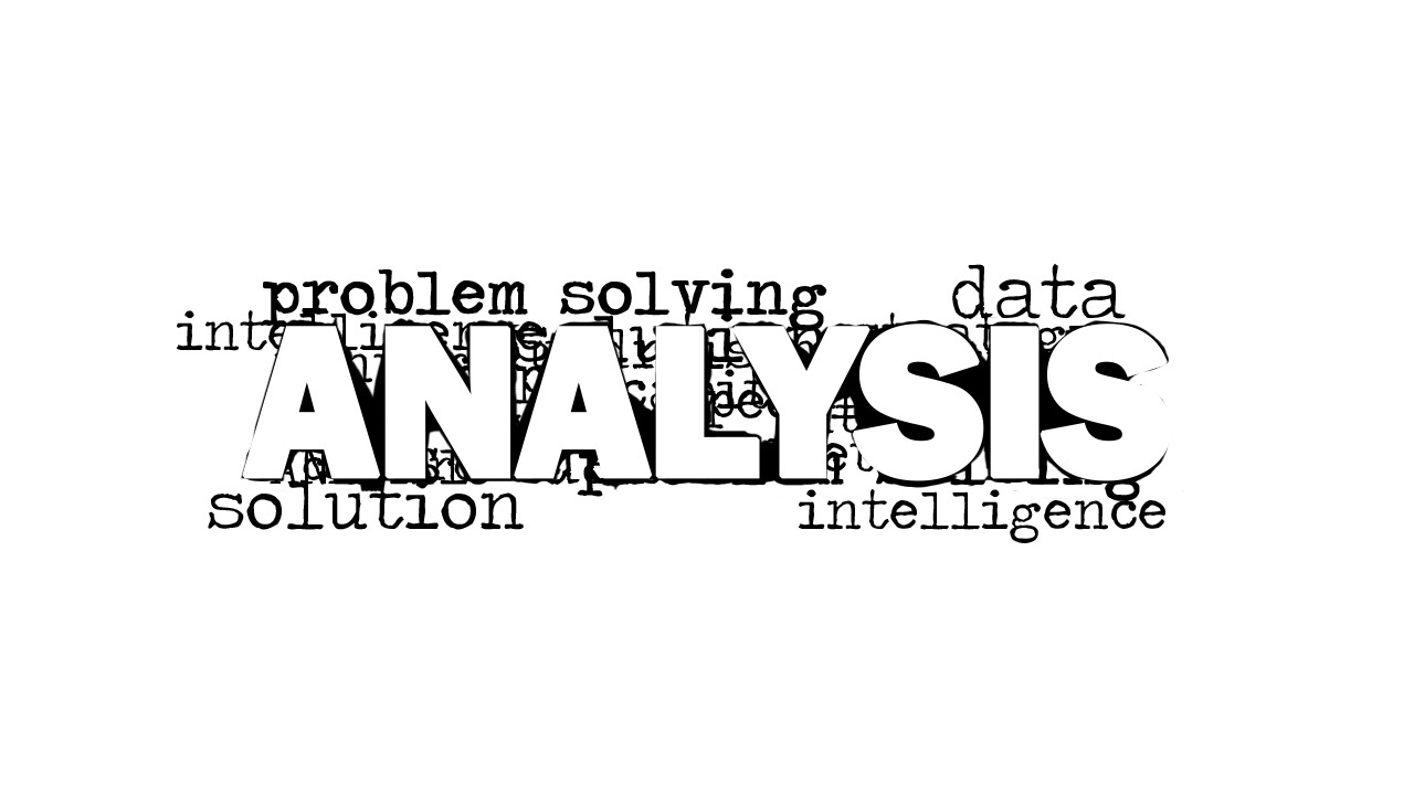 analysis word cloud picture for powerpoint