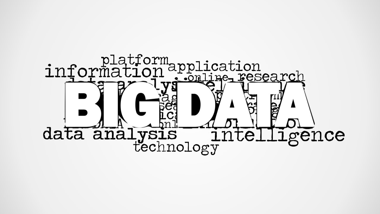 Big Data Tag Cloud Picture