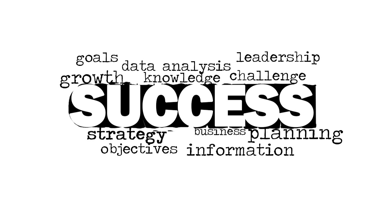 success word cloud picture for powerpoint