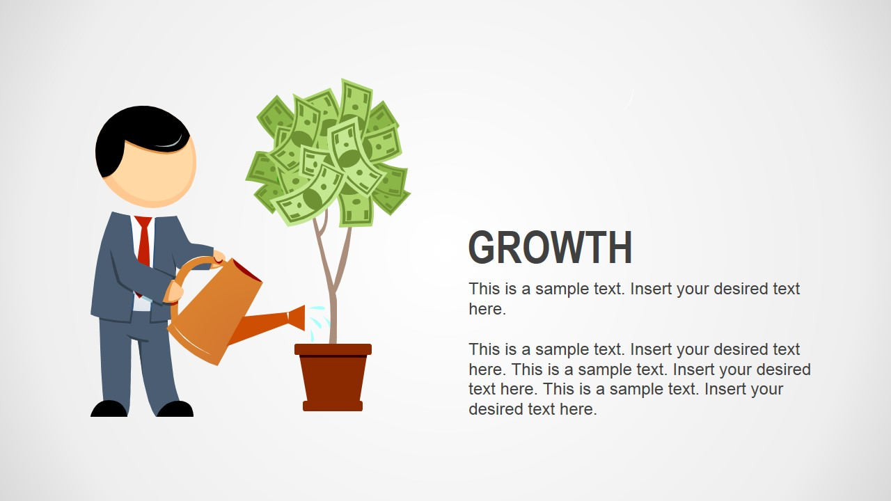 growth business analogy slides for powerpoint