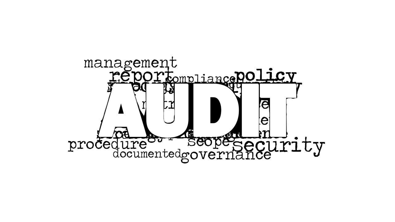 audit word cloud picture for powerpoint