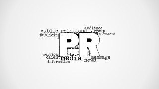 PR Word Cloud Picture for PowerPoint