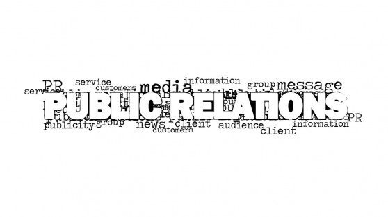 Public Relations Tag Cloud Design