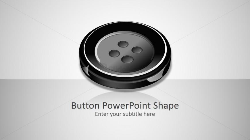 PPT 3D Button Shapes
