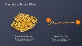 Complex To Simple Spaghetti PowerPoint Diagrams