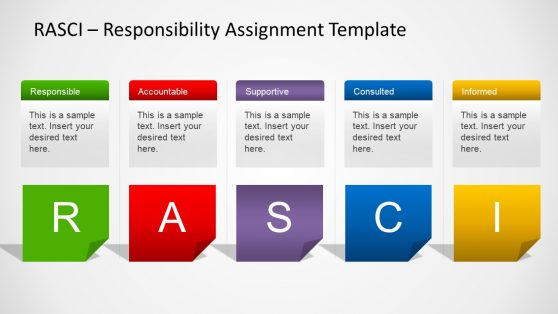 Raci chart powerpoint template simple rasci presentation template maxwellsz