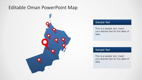 Editable Template of Oman PowerPoint