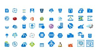 Icons for Cloud Computing Network