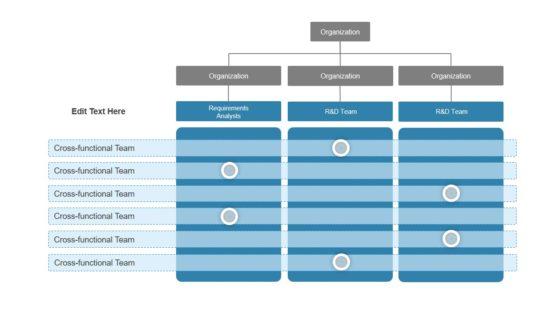 Cross Functional Chart PowerPoint