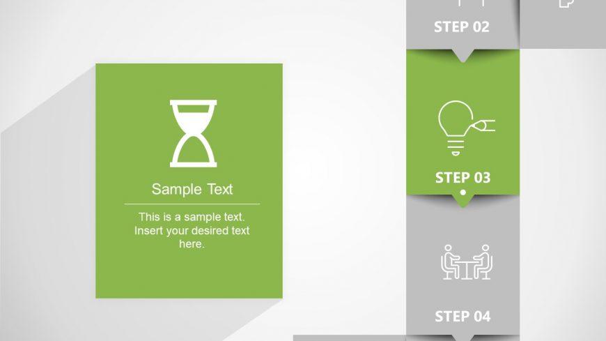 Roadmap of Milestones in PowerPoint