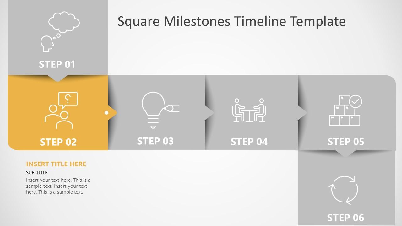 PPT Timeline and Planning Diagram