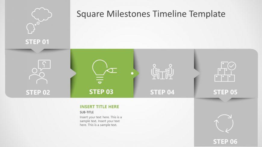 Timeline Roadmap Template Diagram