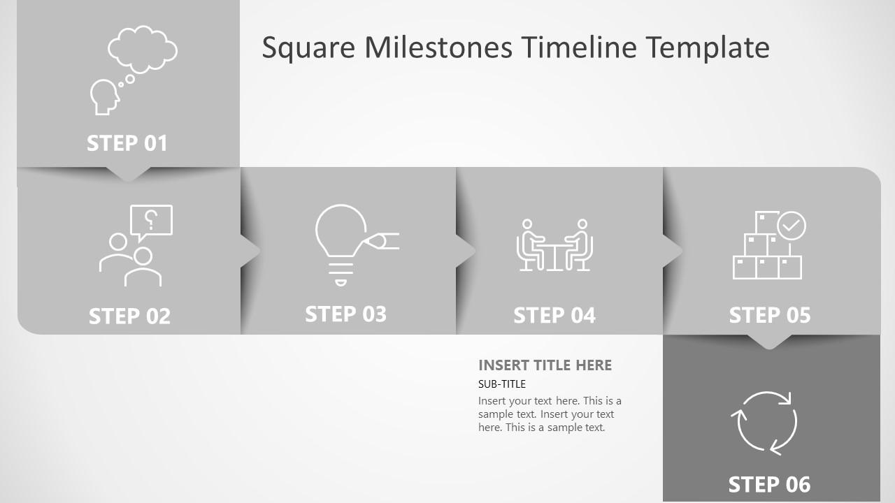 Roadmap PowerPoint for Timeline Milestones