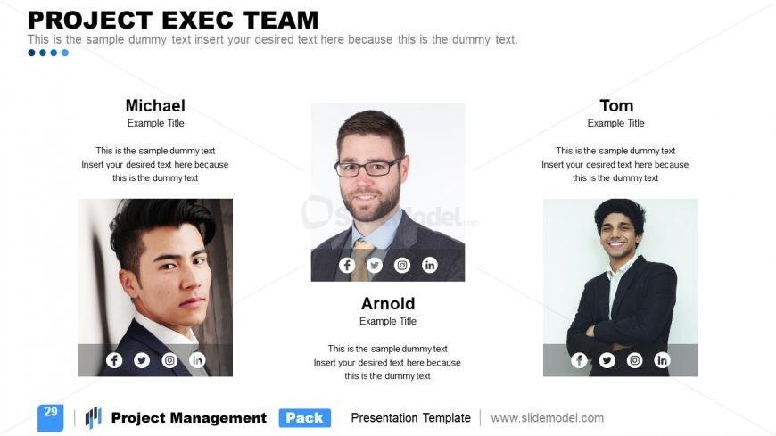 Presentation of Project Management