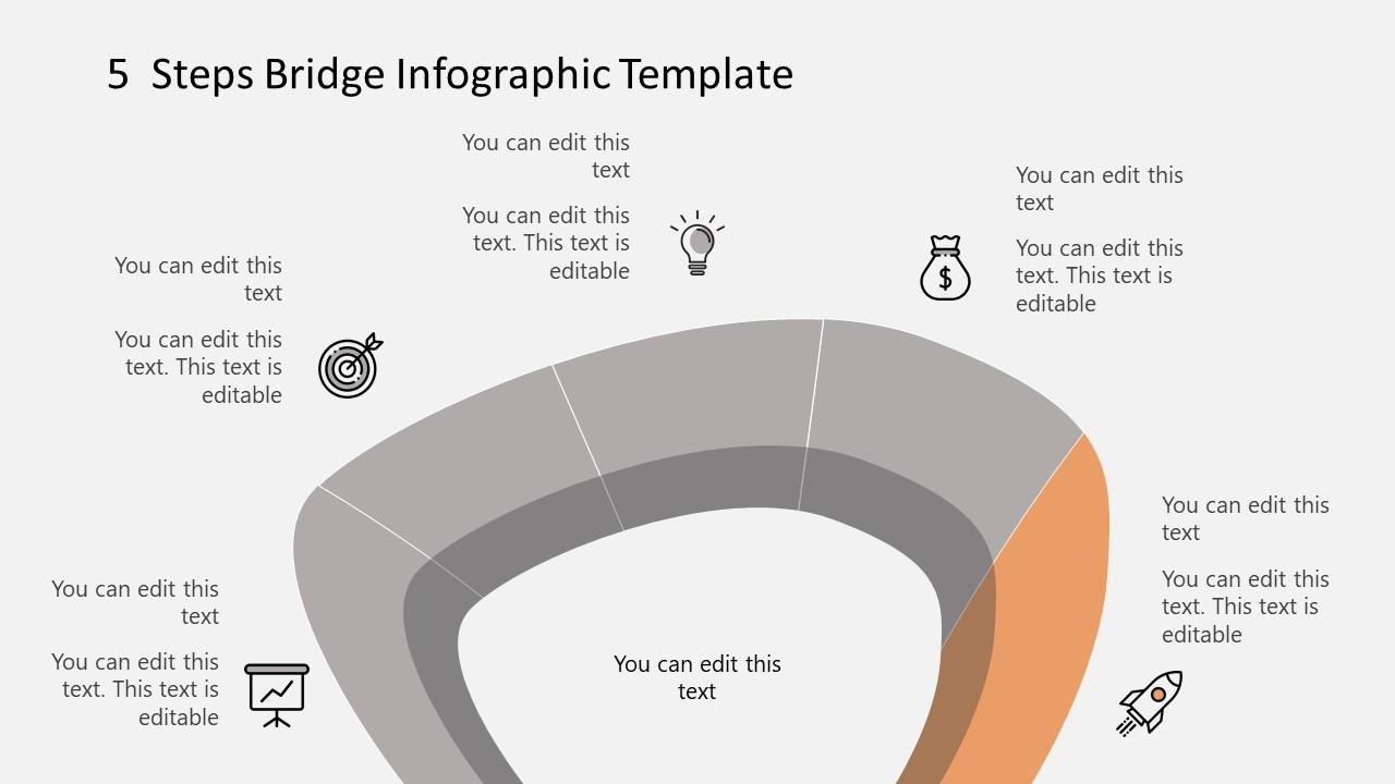 Step 5 Infographic Diagram Bridge Template