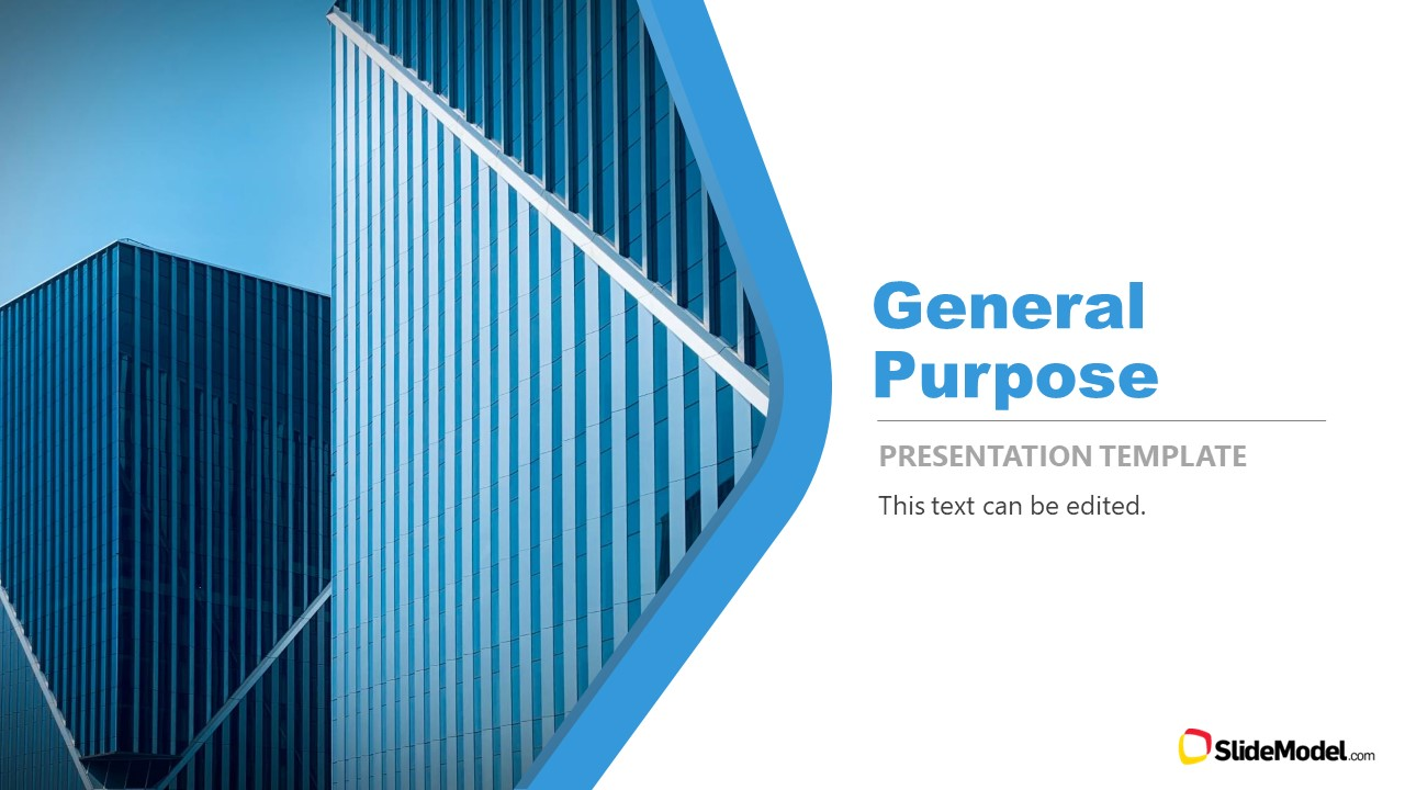 Minimal Design Cover PowerPoint Template
