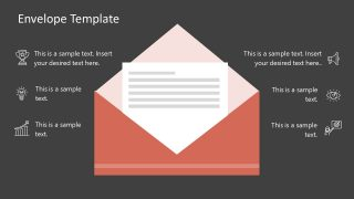 Envelope Message Animated Template