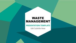 Presentation Deck of Waste Management Industry