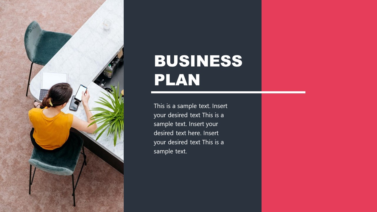 PPT Layout Design for Business Plan