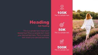 Infographics PowerPoint 3 Segments Template