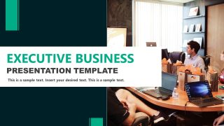 PPT Executive Presentation for Businesses