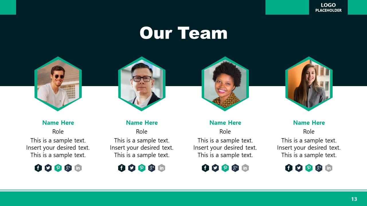 Team PowerPoint Executive Presentation