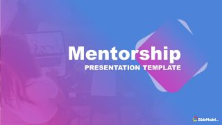 Gradient Background Mentorship PowerPoint