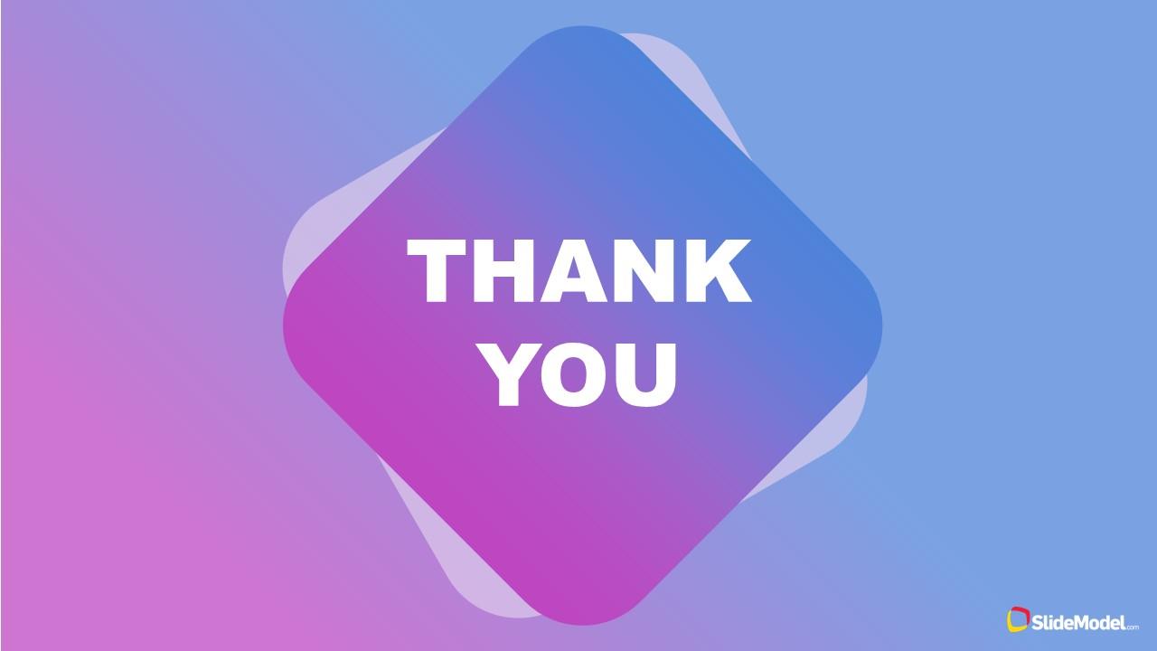 Thank You Slide for Mentorship Presentation