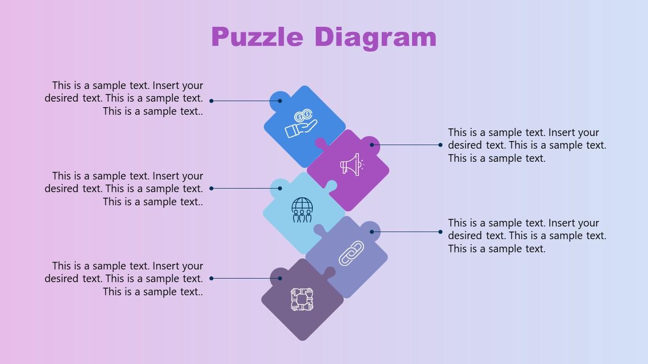 Puzzle Diagram Slide for Mentorship Presentation