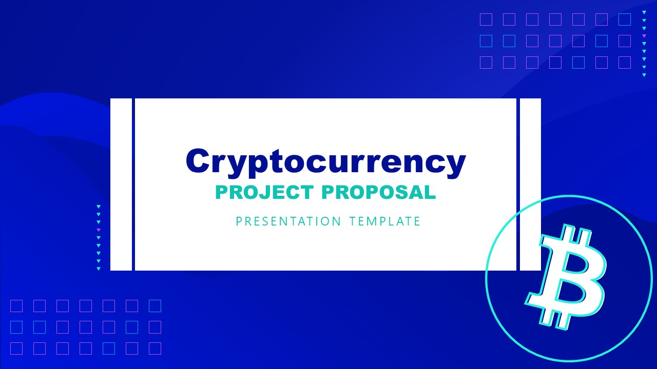 PowerPoint Cryptocurrency Cover Slide