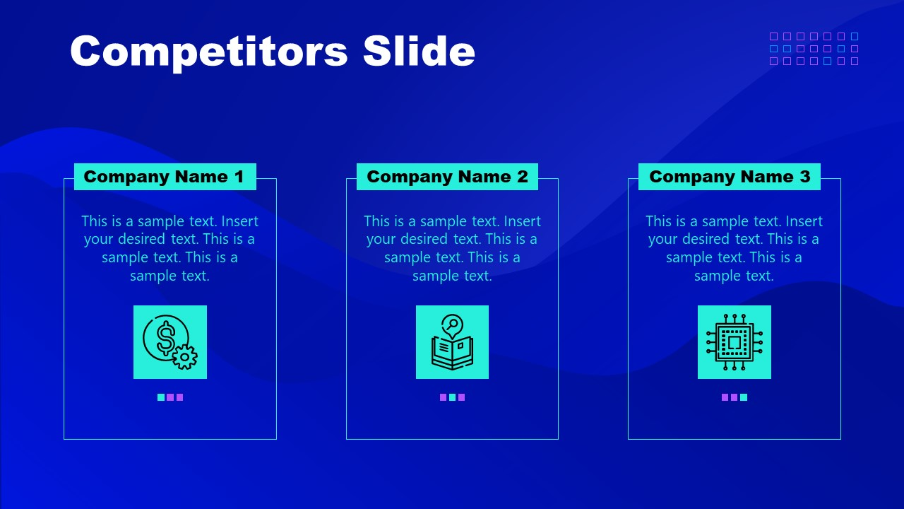 PowerPoint Presentation of Cryptocurrency Competitor Template