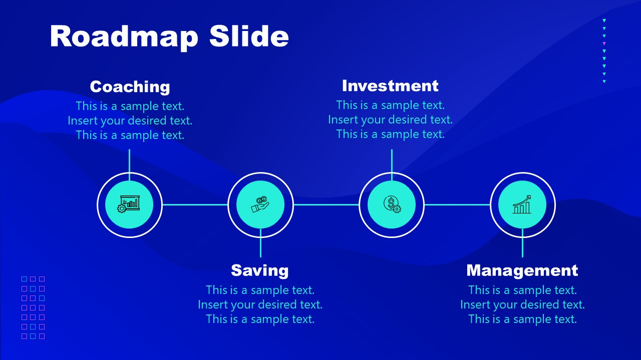 PowerPoint Presentation of Cryptocurrency Roadmap Template