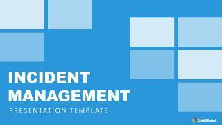 Blue Theme Incident Management PowerPoint