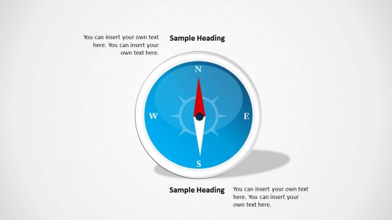 4 Compass Point for PowerPoint