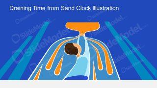 PPT Draining Time Metaphor Slide