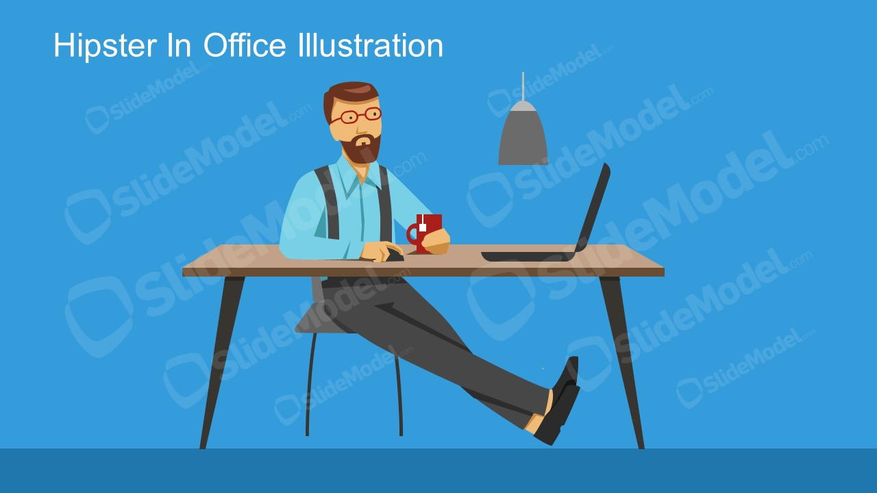 Business Office Professional Hipster Look