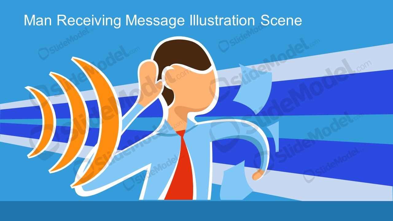 Incoming Message Man and Communication Metaphor