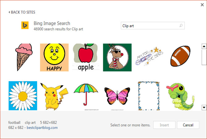 RIP Microsoft Clipart ...Clipart Gallery Microsoft Office