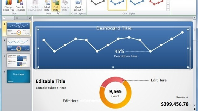 Awesome Dashboard Ideas For PowerPoint Presentations