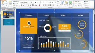 business intelligence powerpoint templates, Modern powerpoint