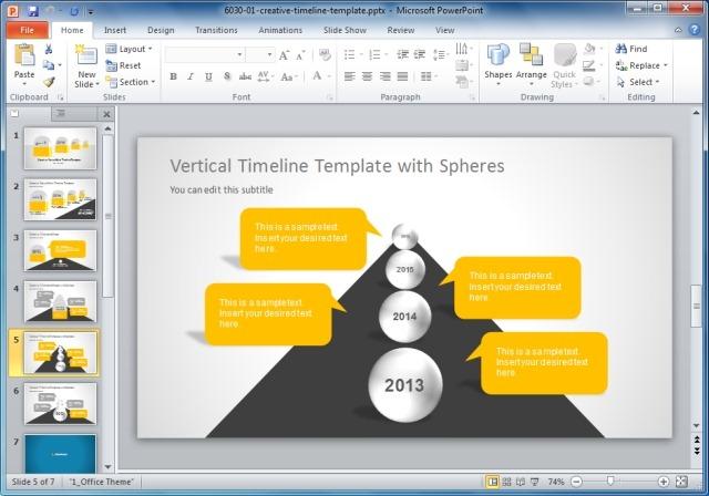 design template powerpoint 2010