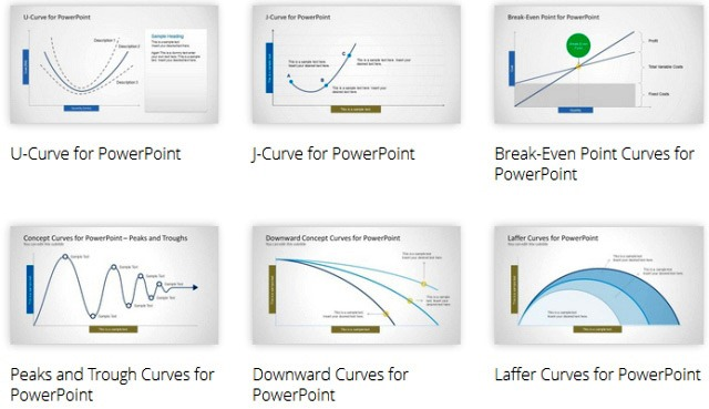 Curves And Lines PowerPoint Templates