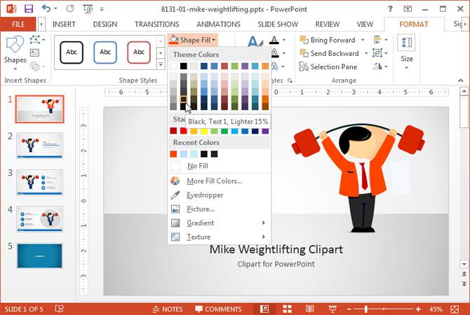 Как редактировать рисунок в powerpoint