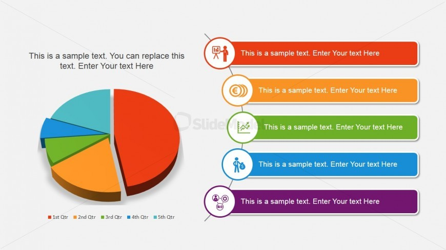 Pie Chart Design For Powerpoint Slidemodel