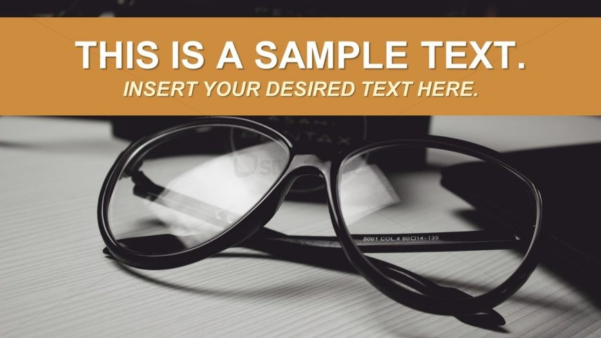 Contact Glasses Frame Gray scale Background