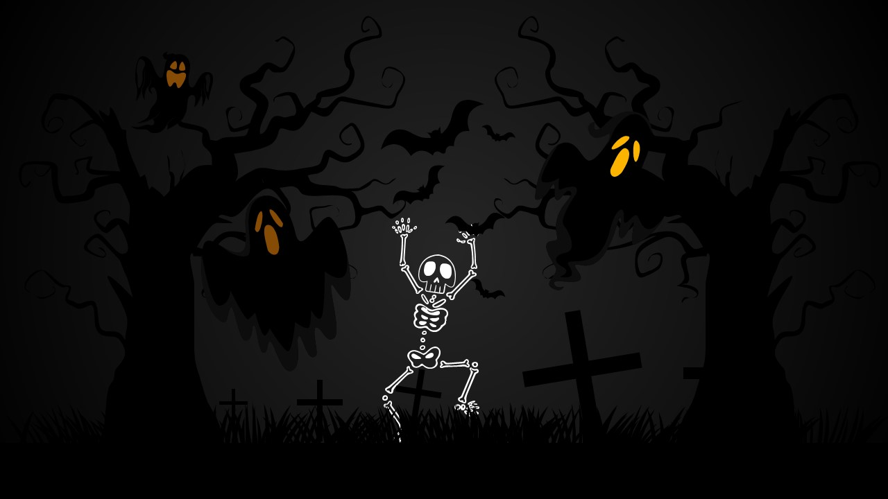free halloween powerpoint background