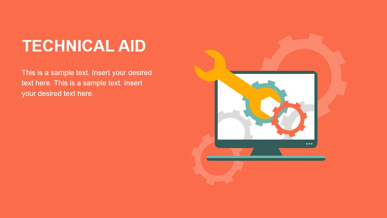Free Technical Aid PowerPoint Slide